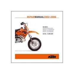 KTM 50 AC/LC (02-08) - Werkstatthandbuch CD