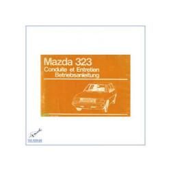 Mazda 323 (ab 1979) - Bedienungsanleitung