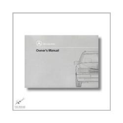 Mercedes-Benz 200 230 300 TE 200 250 300 TD (84>) Owner`s Manual 1990
