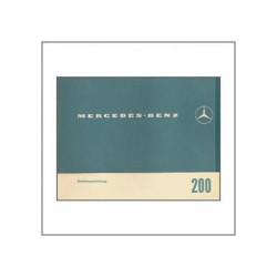 Mercedes-Benz 200 - Betriebsanleitung
