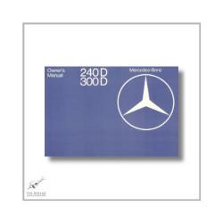 Mercedes-Benz 240 300 D (75>) Owner`s Manual 1977