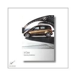 Mercedes-Benz A-Class (04>) Operating Instructions 2009