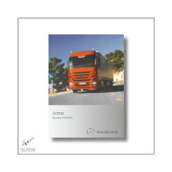 Mercedes-Benz Actros (96>) Operating Instructions 2010