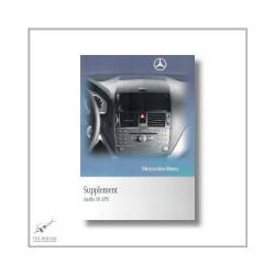 Mercedes-Benz C-Class (07>) Supplement Audio 50 APS 2010