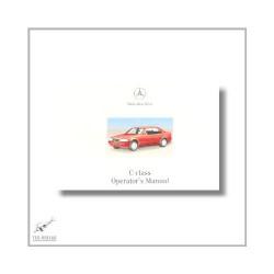 Mercedes-Benz C-Class (93>) Operator`s Manual 2000