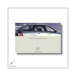 Mercedes-Benz C-Class Sport Wagon (00>) Operator`s Manual 2003