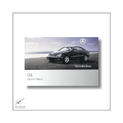 Mercedes-Benz CLK (02>) Operator`s Manual 2009