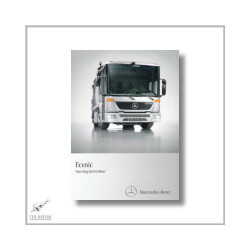 Mercedes-Benz Econic Operating Instructions 2010