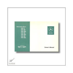 Mercedes-Benz S-Class 116 (72>) Owner`s Manual 1975
