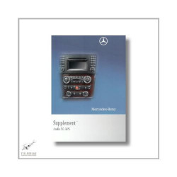 Mercedes-Benz SLK (04>) Supplement Audio 50 APS 2010