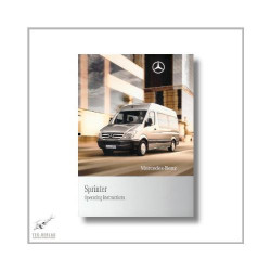 Mercedes-Benz Sprinter (06>) Operating Instructions 2009
