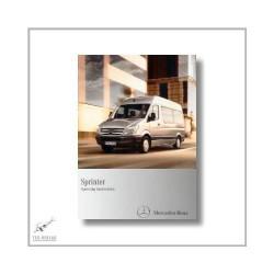 Mercedes-Benz Sprinter (06>) Operating Instructions 2010