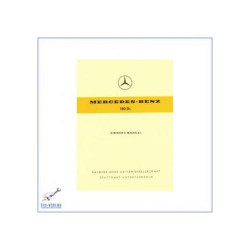 Mercedes Benz W 120, 180 Dc (61-62) - Owners Manual