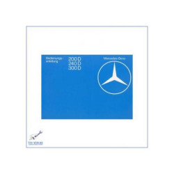 Mercedes Benz W 123 (79-82) - Owners Manual