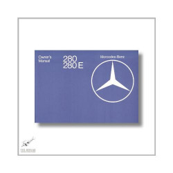 Mercedes-Benz W123 280 280E (75>) Owner`s Manual 1976