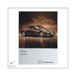 Mercedes S-Class W 221 (05-13) incl. S350 / S450 CDI - Owners Manual