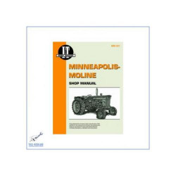 Minneaplois Moline B.F. Avery A / R and V - Repair Manual Clymer