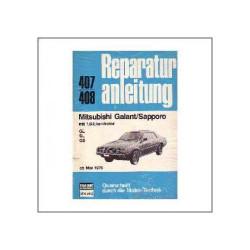 Mitsubishi Galant/Sapporo ab Mai 1976 - Reparaturanleitung