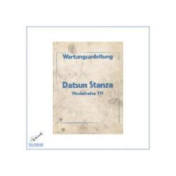 Nissan Datsun Stanza T11 (81-86) - Wartungsanleitung