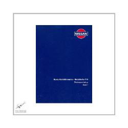 Nissan Sunny - Modellreihe Y10 (90-00) - Wartungsanleitung  Band 1