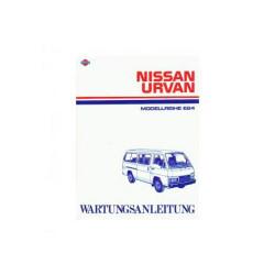 Nissan Urvan E24 - Wartungsanleitung