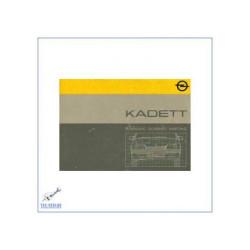 Opel Kadett (ab 1986) - Bedienungsanleitung