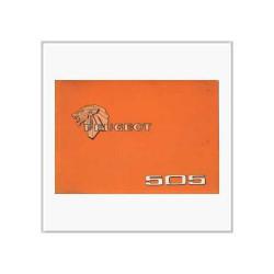 Peugeot 504 - Betriebsanleitung