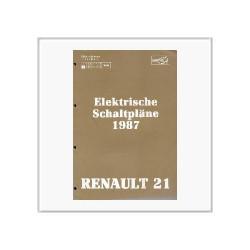 Renault 21 1987 - Schaltpläne