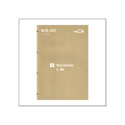 Renault 21 - Blechteile L 48 - Werkstatthandbuch