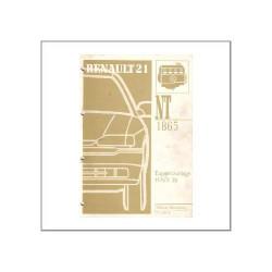 Renault 21 - Einspritzanlage - Werkstatthandbuch