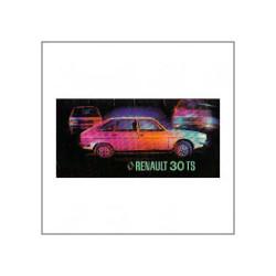 Renault 30 TS - Bedienungsanleitung