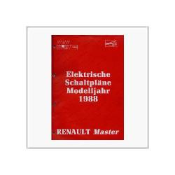 Renault Master 1988 - Schaltpläne