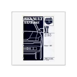 Renault Safrane Motor S8U - Werkstatthandbuch Nachtrag