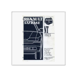Renault Safrane Rechtslenker - Werkstatthandbuch Nachtrag