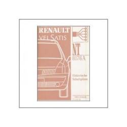 Renault Velsatis NT 8176A (>01) - Elektrische Schaltpläne