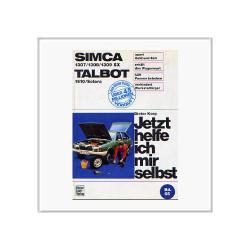 Simca 1307 / 1308 / 1309 SX - Reparaturanleitung