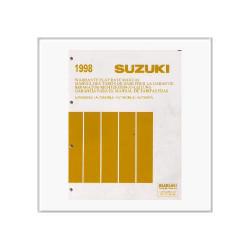 Suzuki Automobile - Reparatur Richtzeiten Katalog