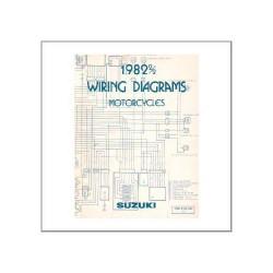 Suzuki div. Modelle 1982 - Wiring Diagrams