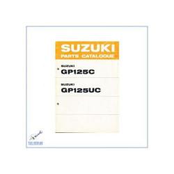 Suzuki GP 125 C / GP 125 UC (>77) - Ersatzteilkatalog
