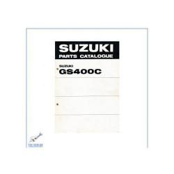 Suzuki GS 400 C (>77) - Ersatzteilkatalog