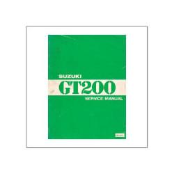 Suzuki GT 200 - Service manual