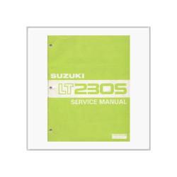 Suzuki LT 230 S - Workshop Manual