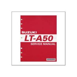 Suzuki LT-A 50 - Workshop Manual