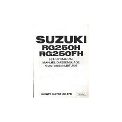 Suzuki RG250H/ FH (84-88) - Montageanleitung