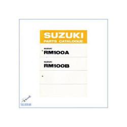 Suzuki RM 100 A / RM 100 B (>78) - Ersatzteilkatalog