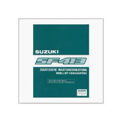 Suzuki Swift SF 413 Vierradantrieb - Werkstatthandbuch