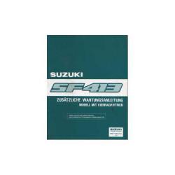 Suzuki Swift SF 413 - Zusätzliche Wartungsanleitung