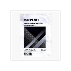 Suzuki Vitara Diesel Klimaanlage - Einbauanleitung