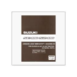 Suzuki Vitara SE/SZ 416 - Werkstatthandbuch Anhang