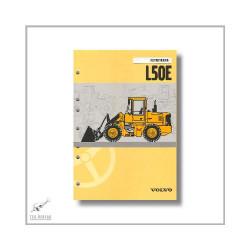 Volvo L50E Radlader (06>) Instructieboek Betriebsanleitung
